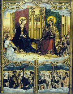 Christus und Maria thronend; Männliche Heilige; Weibliche Heilige 1501-1501; Augsburg; Deutschland; Schwaben; Staatsgalerie im Schaezler-Palais http://tarvos.imareal.oeaw.ac.at/server/images/7016976.JPG