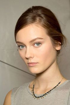 Skin All Aglow at Valentino - Best Spring 2013 Fashion Week Makeup Looks