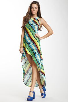 Hi-Lo Hem Maxi Dress on HauteLook. Super pretty