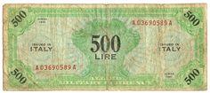 500 LIRE - serie 1943 - #scripomarket #scripobanknotes #scripofilia #scripophily #finanza #finance #collezionismo #collectibles #arte #art #scripoart #scripoarte #borsa #stock #azioni #bonds #obbligazioni