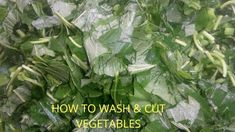 HOW TO WASH & CUT VEGETABLES (The proper way) All Nigerian Recipes, Vegetables, Vegetable Recipes, Veggies