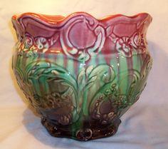 1920's Weller Pottery Blended Glaze Large Jardiniere