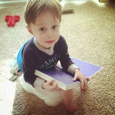 Our Potty Training Adventure - what we did to train our second child (boy). Boys are SO different but he was done in 5 days!