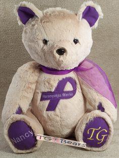 Nancy | Handmade teddy bear for Fibromyalgia Warriors