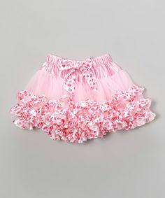 Another great find on #zulily! Pink Heart Pettiskirt - Infant, Toddler & Girls #zulilyfinds