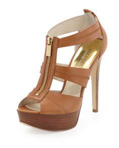 e758edbca Berkley T-Strap Sandal - MICHAEL Michael Kors - Luggage T Strap Sandals