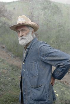 Russ Nicholson grandfather of all the Nicholsons in Nicholson Hollow Virginia