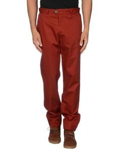 Casual pants by Oliver Spencer, Men's, Size: 32, Red