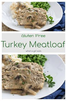 This gluten free turkey meatloaf is the lightest and fluffiest meatloaf you'll ever taste. It's the perfect, way to stretch ground meat. Apple Recipes, Pumpkin Recipes, Fall Recipes, Sweet Recipes, Soup Recipes, Vegetarian Recipes, Chicken Recipes, Healthy Recipes, Gluten Free Breakfasts