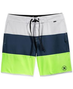 Hurley Men's Beachside Northcliff Colorblocked Swim Trunks