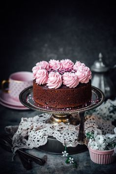 beet and chocolate cake