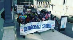'Democracy Spring' activists to stage sit-in at US Capitol (VIDEO)  http://pronewsonline.com  © kaylahhanlon