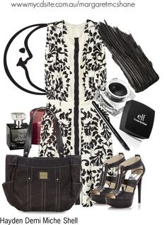 """""""Hayden Demi Miche Shell"""" by mcshanes on Polyvore"""