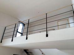 Garde corps d 39 ext rieur en m tal panneaux en verre cabourg escalier - Construire un garde corps ...