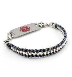 Deep Space Medical ID Bracelet #laurenshope