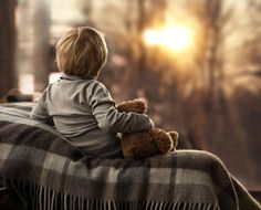 Kid,little boy. The winter sunrise by Elena Shumilova on 500px