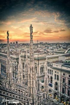 Milan, Italy. I'll be here Monday!