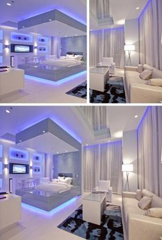 Perfect Cool Bedrooms Interior Design Ideas