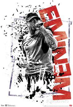 Eminem Crumble Music Poster Poster at AllPosters.com