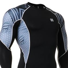 Fixgearmall - #FIXGEAR #Compression Base Layer Long Sleeve #Shirts, model no C2L-B41, Skin Tights and Advanced Performance Fabric. #mma #workout #crossfit #gym #sportswear #menswear #mensfashion #menstyle #weighttraining #musclemania #bodybuilding #bodybuilder #buildyourbody #muscle #strength #yoga
