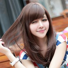korean-women-straight-medium-hairstyles-ideas