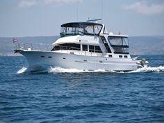 1985 Hershine 48 CPMY STABILIZED Power Boat For Sale - www.yachtworld.com