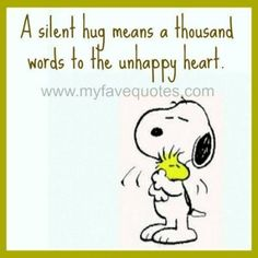 Snoopy Missing Someone Quotes.