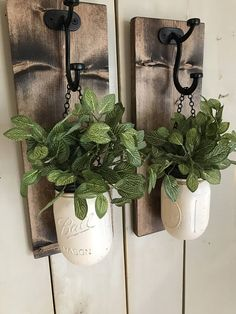 Diy home decor projects - winter wall sconce mason jar wall sconce floral wall sconce Rustic sconce wood wall sconce spring gift Mason Jar sconce Rustic Wall Sconces, Rustic Walls, Rustic Decor, Farmhouse Decor, Rustic Wood, Mason Jar Projects, Mason Jar Crafts, Pot Mason Diy, Colored Mason Jars