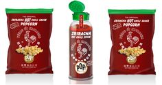 A SRIRACHA SNACK LINE NOW EXISTS, AND WE CAN DIE HAPPY The most exciting product? Huy Fong Sriracha in powdered form, which we plan to put on everything from chicken to French fries.