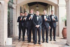 Venue: http://ebellla.org | Photography: http://www.sunandsparrow.com | Event planning: http://www.amygreenbergevents.com/ | Wedding dress: http://moniquelhuillier.com | Bridesmaids' dresses: http://www.watters.com/wtoo/wtoo-brides/ | Groom's attire: http://carrollandco.com/ | Groomsmens' attire: http://theblacktux.com | Read More: https://www.stylemepretty.com//www.stylemepretty.com/vault/image/6275138