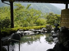 Japanese hot spring in Tokushima  #japan #japanese #onsen #hotsprings #tokushima #shikoku #bath #beautifulveiw #mountain #green #nature #natural #relax #relaxation #tram #hotel #rever #veiw #travel #trip