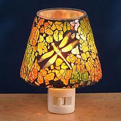 Dragonfly Mosaic Night Light