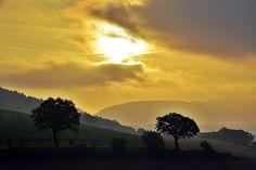 """""""Der Morgen erwacht über Bodenwerder"""", schreibt Rolf Sander, der uns dieses Foto geschickt hat."""