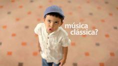 Crianças e Música Clássica. Cultura #issomudaomundo