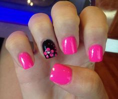 Light pink nail design,very beuatiful!21 Cute And Trendy Nail Designs for Summer