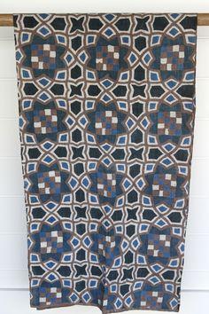 Hand Painted Indigo Batik Stratan | JuxtaPosition