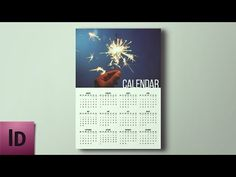 How To Create a Calendar - InDesign Tutorial - YouTube