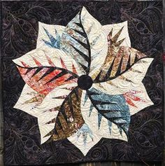 Poinsettia, Quiltworx.com, Made by CI Dianne Kinsey Table Topper Patterns, Table Toppers, Foundation Paper Piecing, Poinsettia, Fabric Design, Quilt Patterns, Quilting, Boards, Ideas