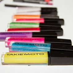 THE LIP DIAMOND COLLECTION  HD Sheer Non-Sticky Shimmer Scented Lip Gloss's  Available at www.takiemoto.com  Photographer Paul Lara