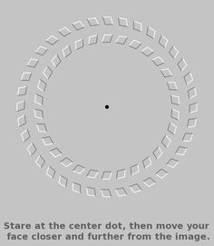 Optical Illusions are so cool! Wow!: