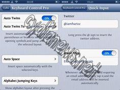 CydiaNews Keyboard Control Pro 0.1 1