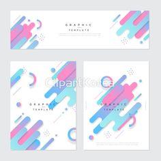 일러스트,사람없음,비즈니스,템플릿,배너,세트,미니멀리즘,브로슈어,기하학,무늬,가로,반원,원형,그러데이션,분홍색,파란색,백그라운드, Graphic Design Lessons, Graphic Design Posters, Web Design, Layout Design, Folders, Color Palette Challenge, Pharmacy Design, Screen Design, E Commerce