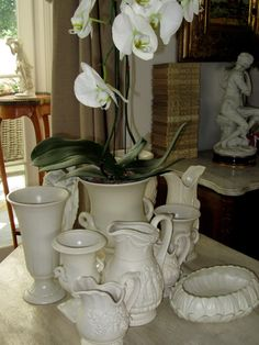 la Brocanteuse: White images and tjieeeeee.....