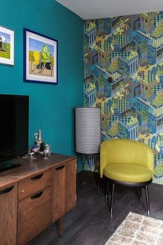Mid-Century Classics - Why Boldly Colored Furniture Changes Everything - Photos