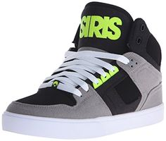 OSIRIS Skateboard Shoes NYC 83 VULC GRAY/LIME, Grau, 8.5 D(M) US - http://on-line-kaufen.de/osiris/8-5-d-m-us-osiris-skateboard-shoes-nyc-83-vulc-gray