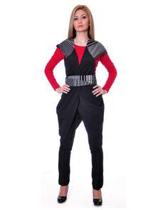 Daka Hooded Sleeveless Cardigan Made In Europe