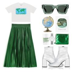 """""""beyond the sea."""" by the-vagabond ❤ liked on Polyvore featuring UNIF, Prada, Pottery Barn, Givenchy, STELLA McCARTNEY, Daniel Wellington, (MALIN+GOETZ) and pleats"""