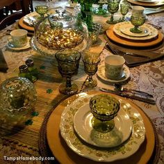 Tablescapes | St. Patrick's Day