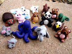 Sculpey Animals