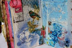 Altered Books Techniques | Altered Book.... a bit more
